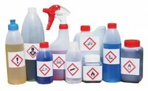 kimyasal ambalaj etiketi